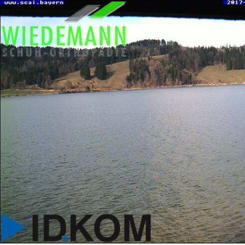 Livecam Alpsee Immenstadt - Wetter