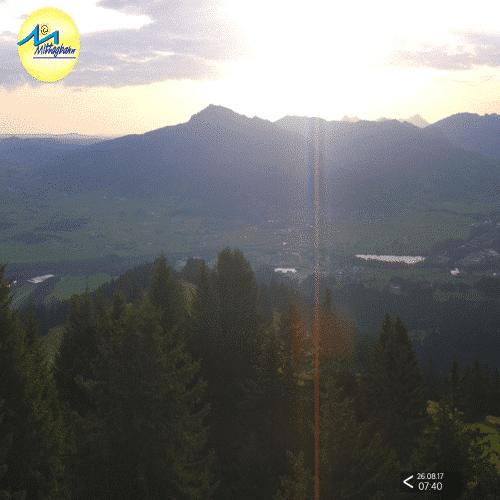 Mittagbahn Rundumblick - Wetter