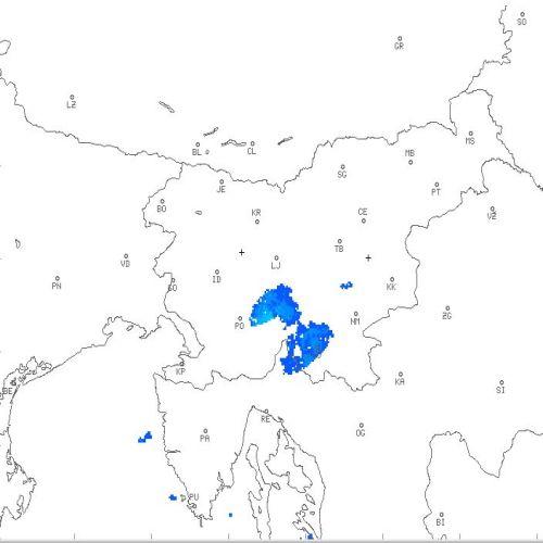 Niederschlagsradar Slowenien - Wetter