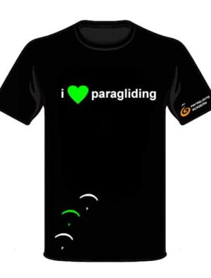 "T Shirt i love paragliding front 300x395 - T-Shirt ""i love paragliding"""