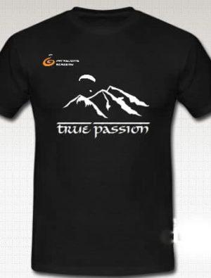"T Shirt 2012 True Passion2 300x395 - Gleitschirm T-Shirt ""true passion"""