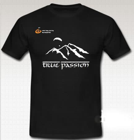 "T Shirt 2012 True Passion2 - Gleitschirm T-Shirt ""true passion"""
