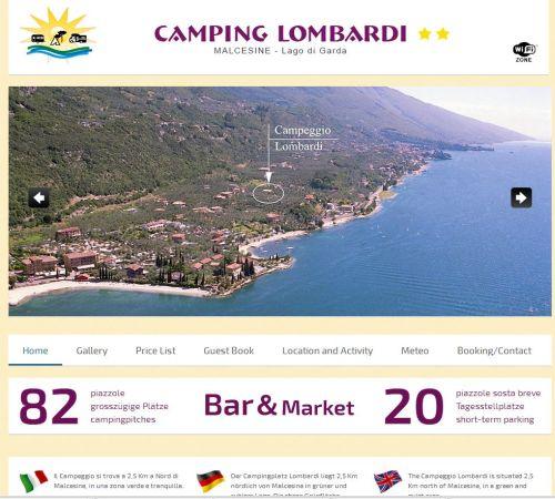 CampingLombardi 1 - Unterkünfte