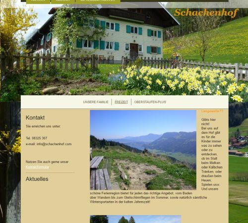 Schachenhof 1 - Unterkünfte