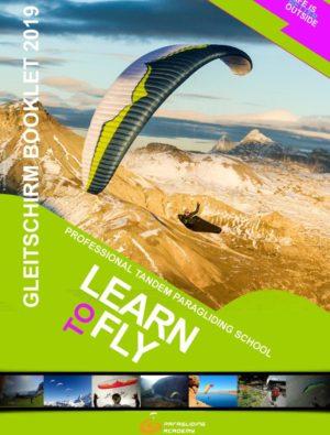 Booklet2019 Cover 300x395 - Gleitschirm Prospekt 2019