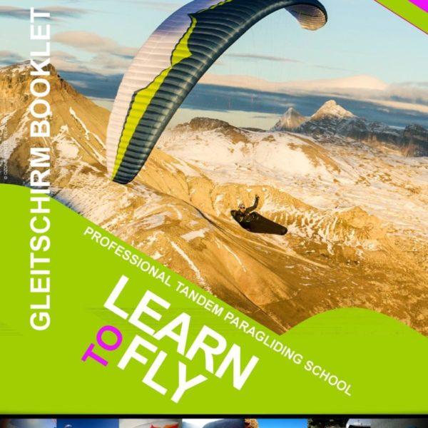 Booklet2019 Cover 600x600 - Gleitschirm Prospekt 2019