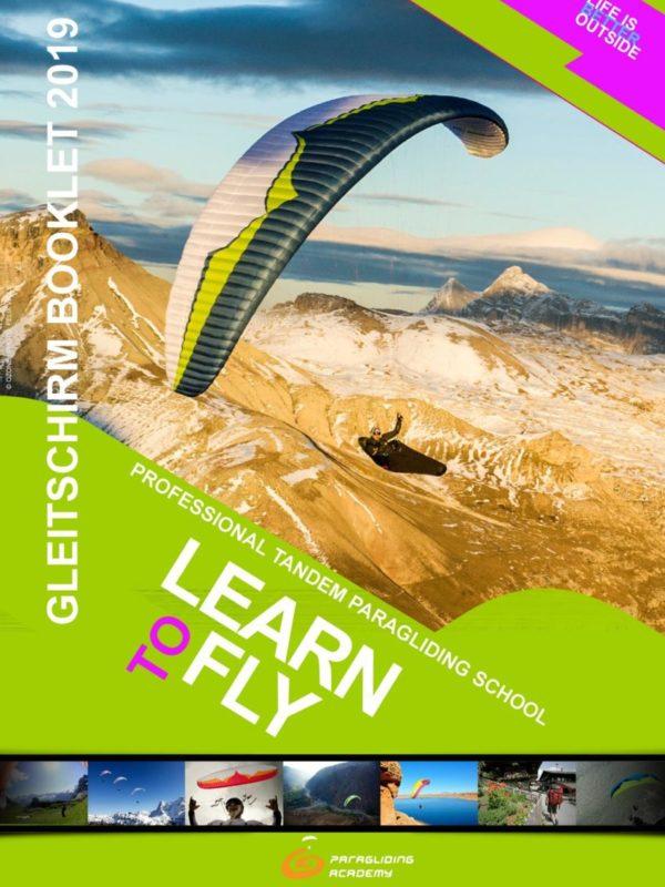 Booklet2019 Cover 600x800 - Gleitschirm Prospekt 2019