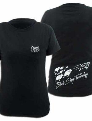 BlackSheep2Woman1 300x395 - Ozone T-Shirt Girl Black Sheep2 L