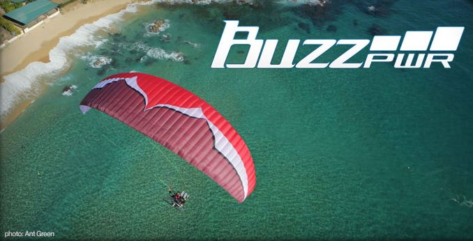 BuzzZ Power header - Ozone BuzzZ Power (Paramotor)