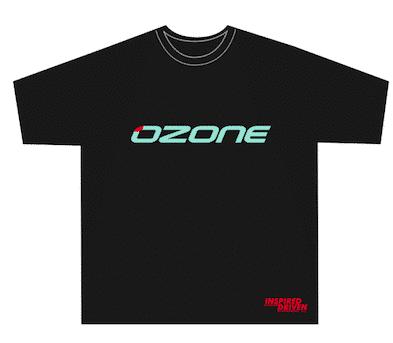 Ozone Shirt Classic black GIRL - Ozone T-Shirt Girl Classic L
