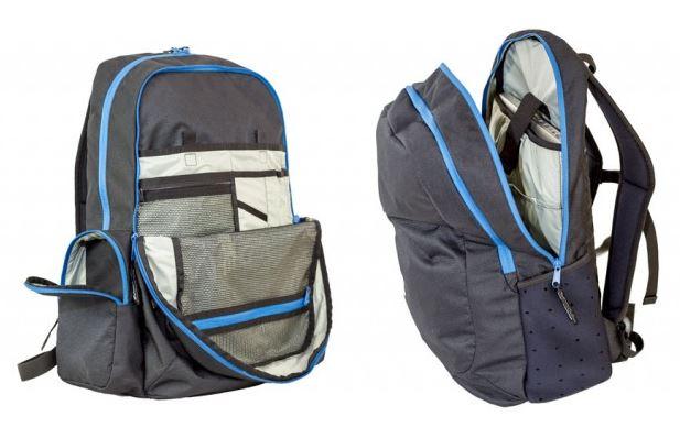 V30 inside - Ozone V30 Travel Backpack/ Reiserucksack