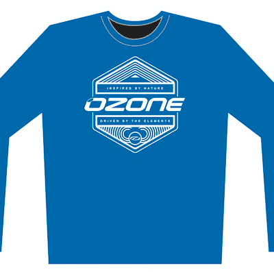 longsleeve blue inspired 400x397 - Ozone Technical Long Sleeve