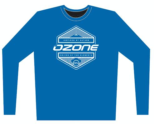 longsleeve blue inspired - Ozone Technical Long Sleeve