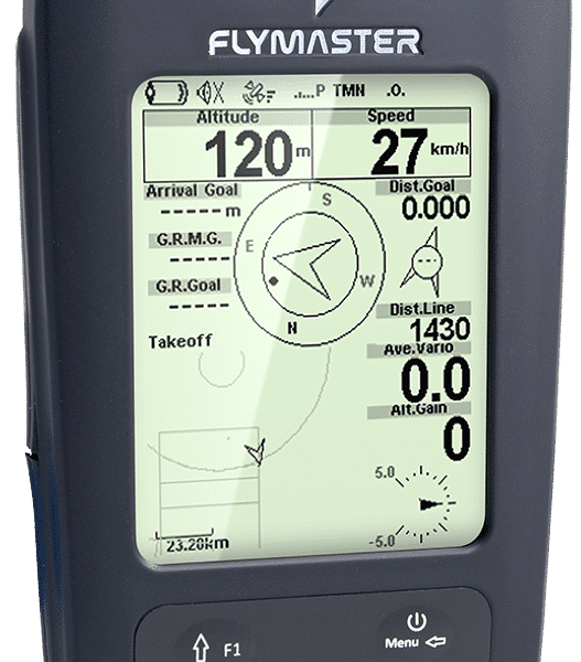 GPS SD plus 527x600 - FLYMASTER GPS SD +