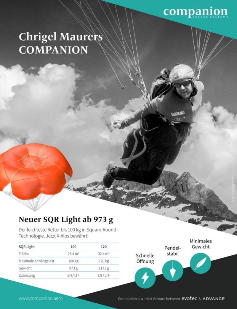 companion sqrlight factsheet 800x1042 - Advance Companion SQR/ Light