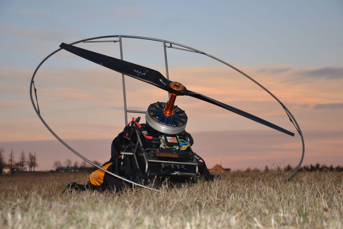 E Light Moskito - FTR Moskito Light - Aufstiegshilfe für Thermikflieger