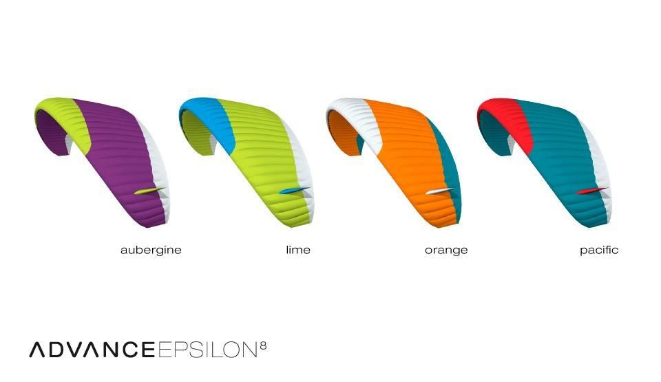 Standardfarben Advance Epsilon8