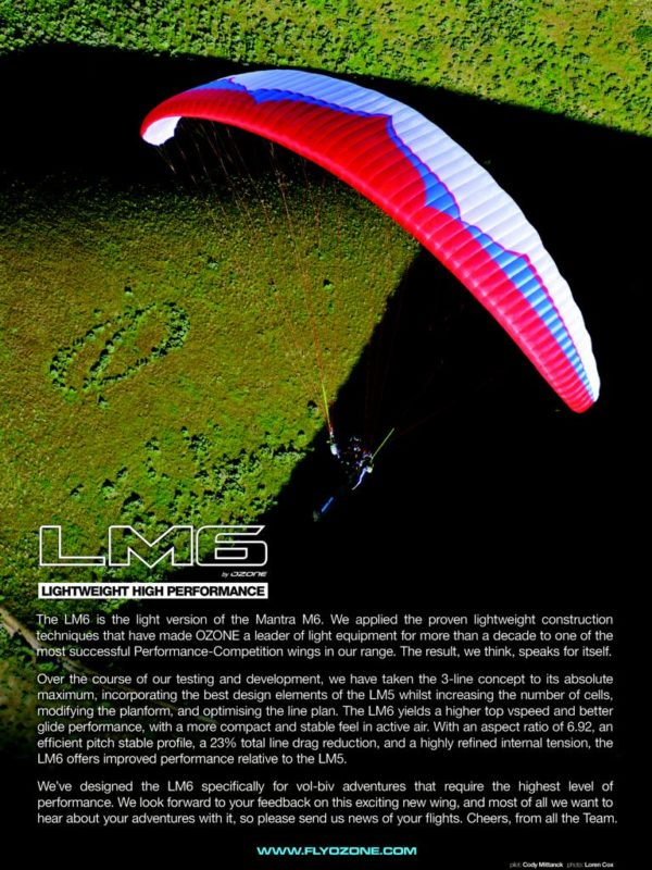 skywings 2016 july lm6 full page ad 600x800 - Ozone LM6