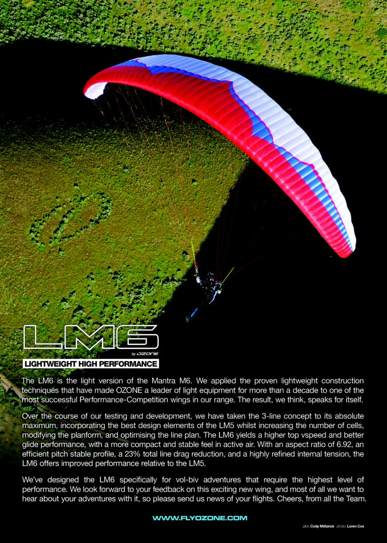 skywings 2016 july lm6 full page ad - Ozone LM6