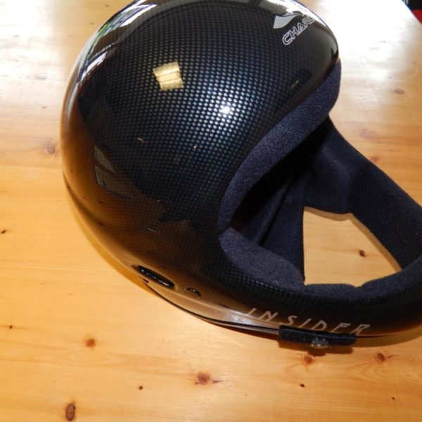 Charly Insider Carbon 2 600x600 - Helm Charly Insider L inkl. Funkset