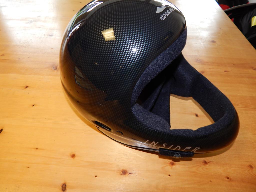 Charly Insider Carbon 2 - Helm Charly Insider L inkl. Funkset