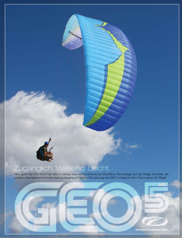 Geo5 Advert - Ozone Roadster2 (Paramotor)