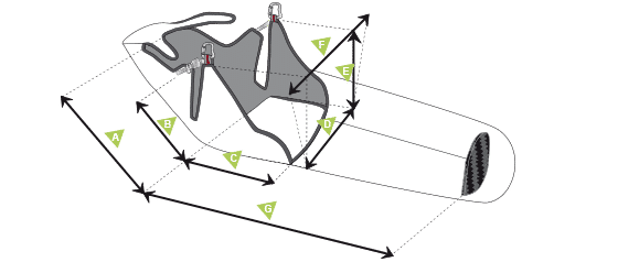mesure harnesses speedbag - SupAir Strike 2018