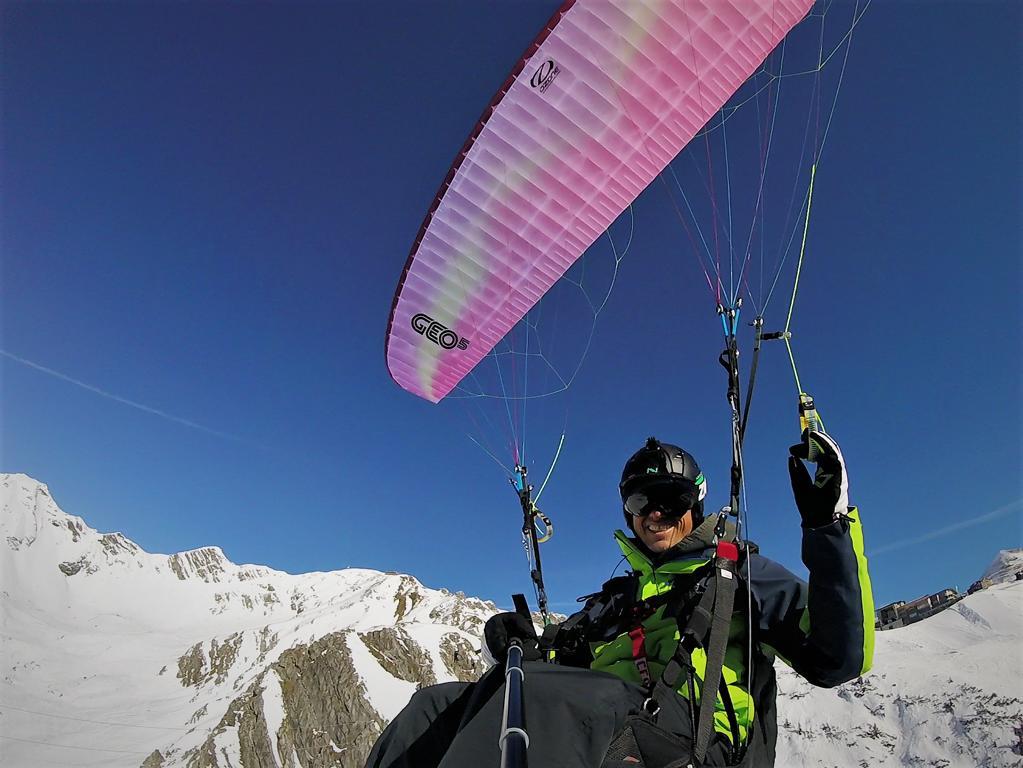 Ozone Geo5 Testbericht - Paragliding Academy Chris Geist