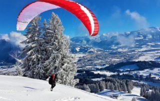 Winterstart Mittag Mojo5 320x202 - Wann ist die beste Jahreszeit um das Gleitschirmfliegen zu lernen?