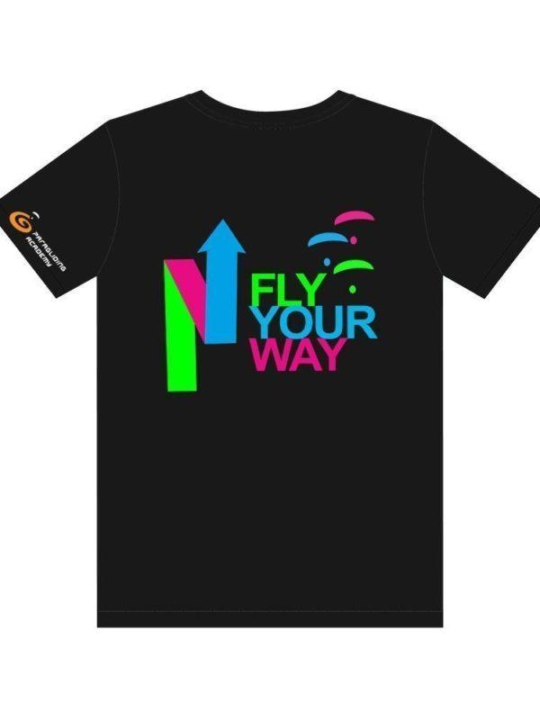 "t shirtschwarz mitprint arrow 600x800 - T-Shirt ""Arrow"""
