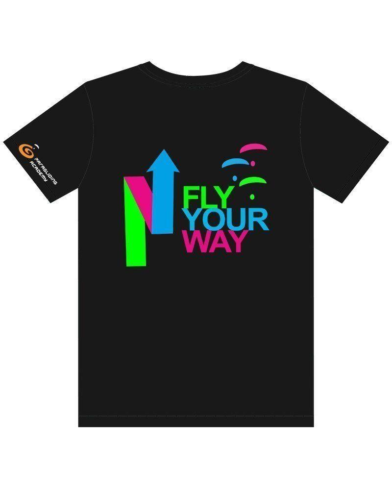 "t shirtschwarz mitprint arrow 800x1000 - T-Shirt ""Arrow"""