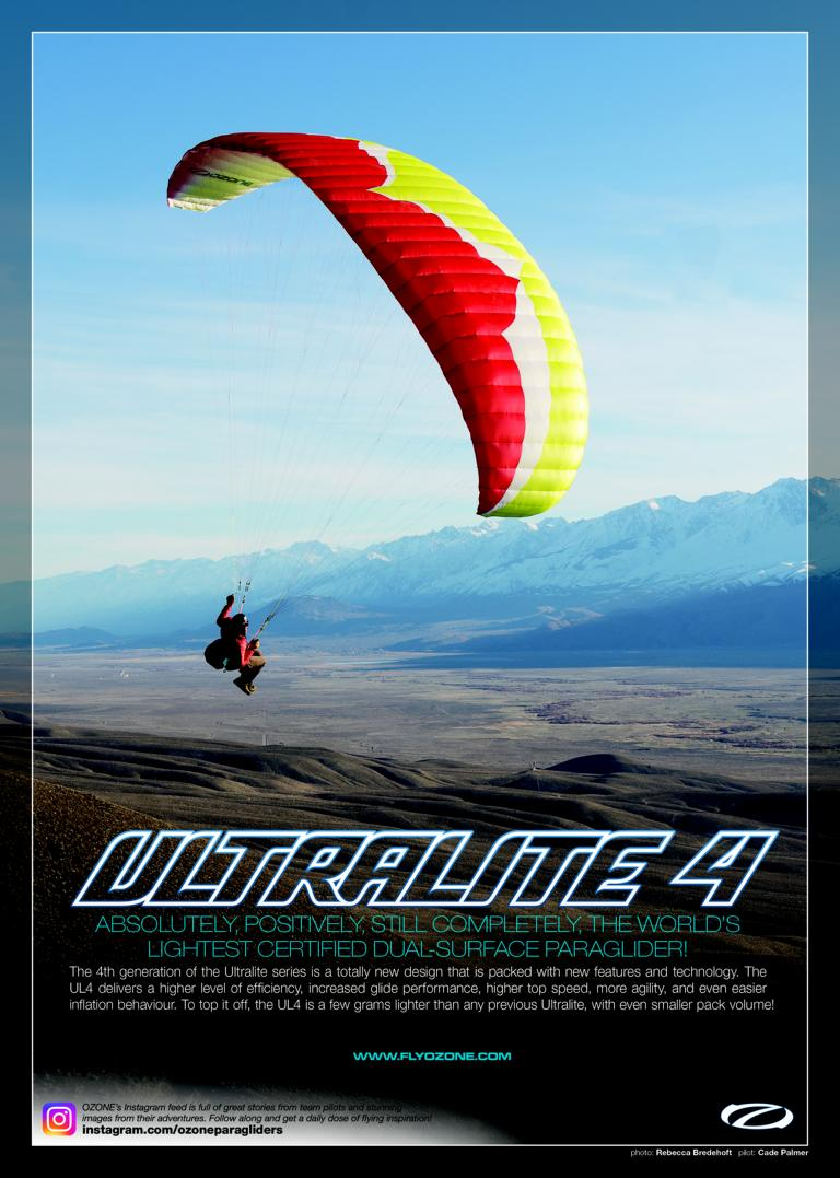 Ultralite4 Skywings - Ozone BuzzZ Power (Paramotor)