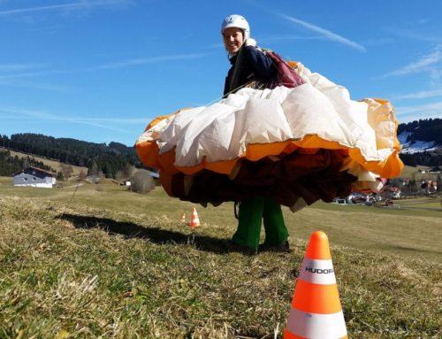 Gleitschirm Grundkurs GK3 – Fasching, na und?  ;-)