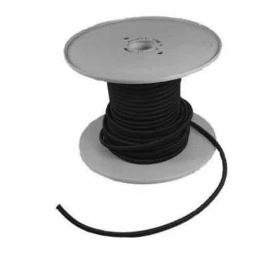 Gummileine schwarz - Rückholgummi für Beschleuniger Set (2 Stück)