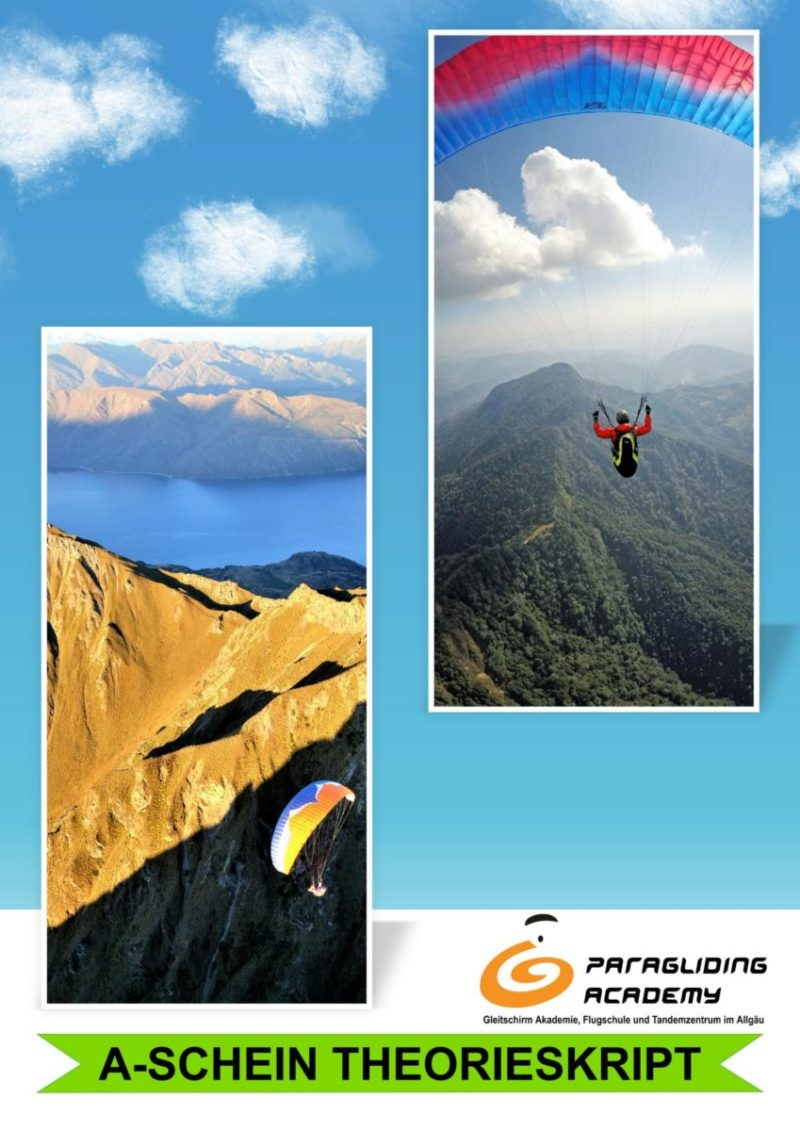Theorieskript Front 800x1131 - A-Schein Skript Paragliding Academy PDF DOWNLOAD