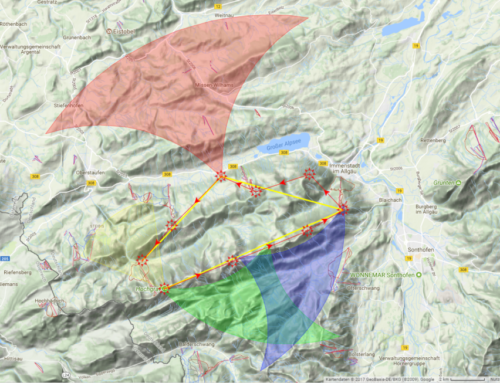 Eine Streckenflug Route im Skytraxx 3.0 planen/aktivieren