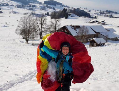 Gleitschirm Grundkurs GK 21 – Ein Wintermärchen