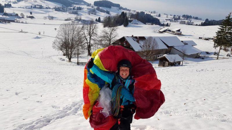 20171203 131445 - Gleitschirm Grundkurs GK 21 – Ein Wintermärchen
