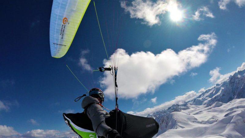 Gleitschirm Alpina3 Ozone Nebelhorn März2018 14 - Gleitschirmfliegen im Frühjahr