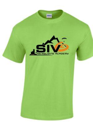 "SIV Shirt2018 lime Herren 300x395 - Gleitschirm T-Shirt ""SIV"""