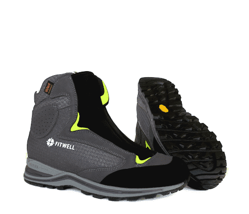fitwell dragonfly grau - Fitwell Dragonfly Fliegerschuh