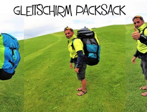 Gleitschirm Rucksack richtig packen und anziehen