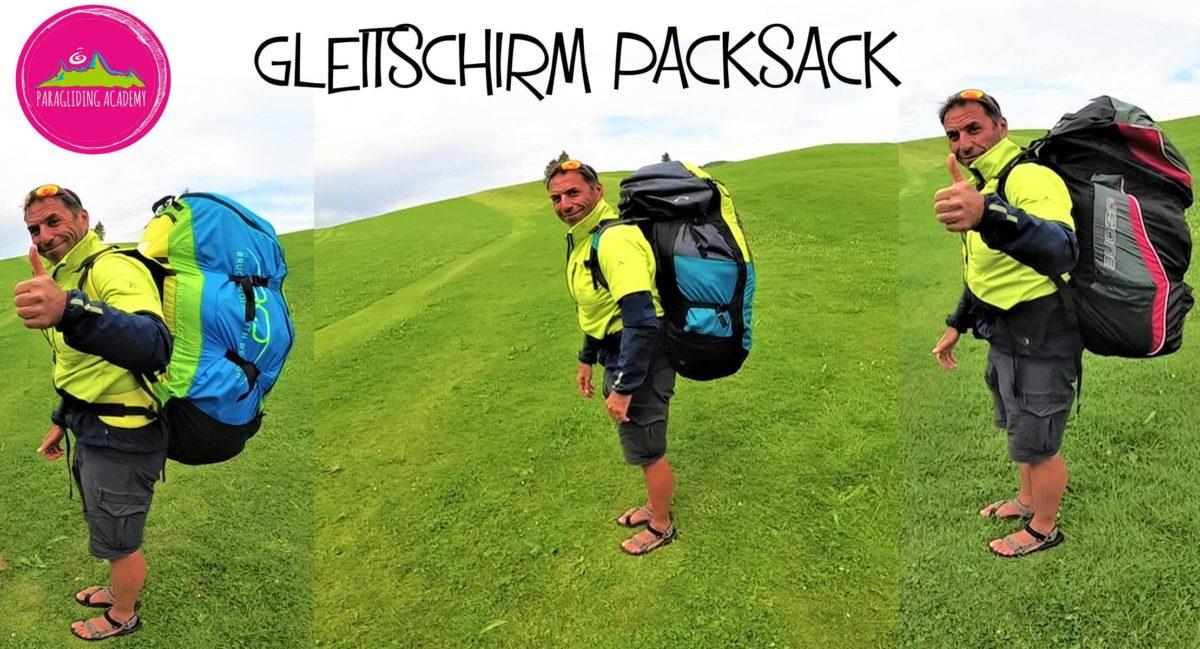 gleitschirm packsack - Gleitschirm Rucksack richtig packen und anziehen