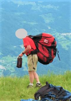 so trÄgt sich der packsack schlecht - Gleitschirm Rucksack richtig packen und anziehen