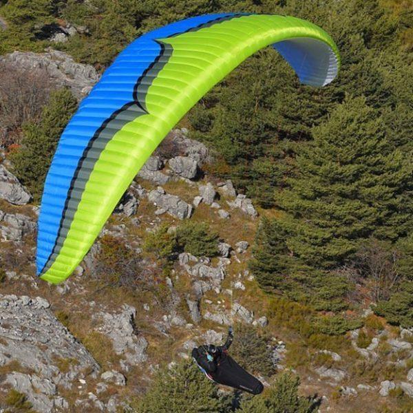 Rush5 grün blau 600x600 - Ozone Rush5 MS lime - wie neu