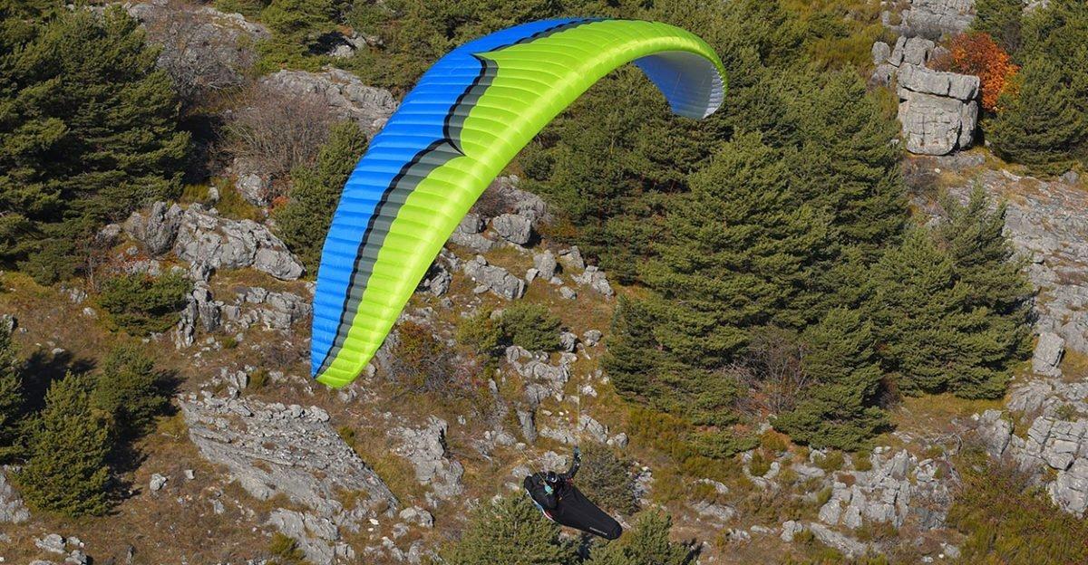 Rush5 grün blau - Ozone Rush5 MS lime - wie neu