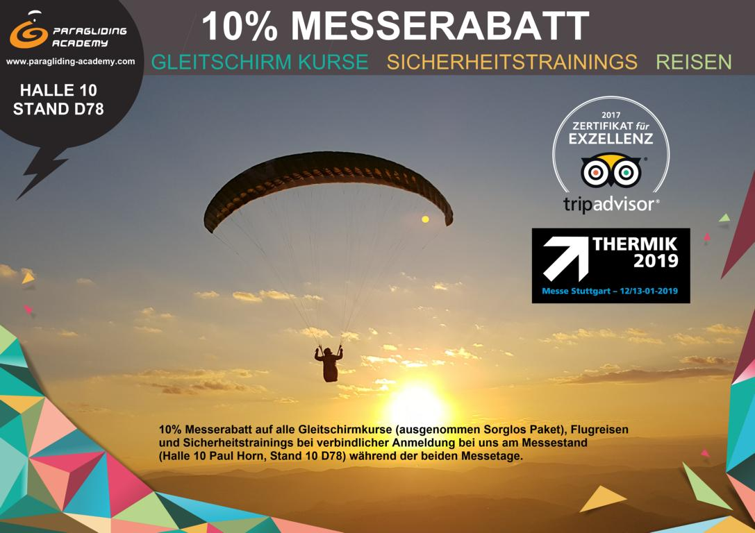 Messerabatt 2019 - Besuche uns auf der Thermikmesse