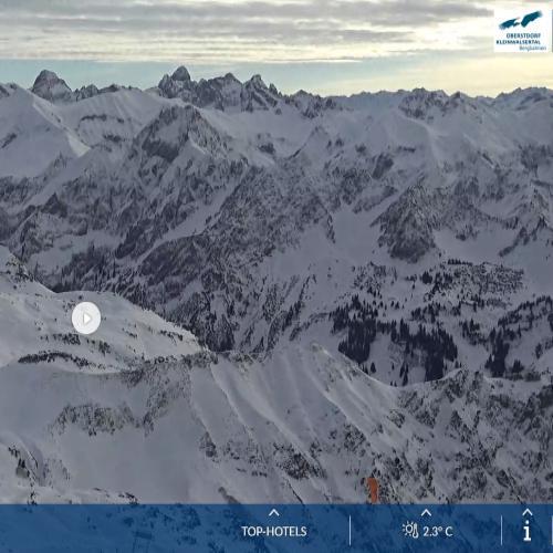 Livecam Nebelhorn - Wetter
