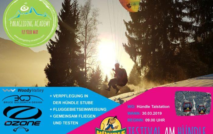 Testival Hündle 700x441 - Gleitschirm Testival am Hündle