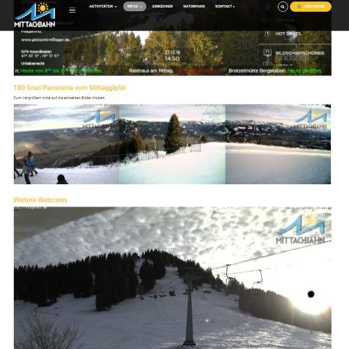 Webcams Mittagberg - Wetter